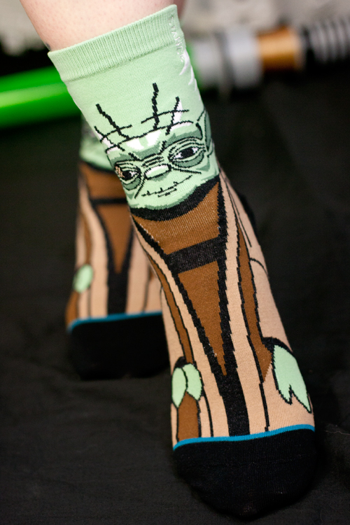 Adult Yoda Socks