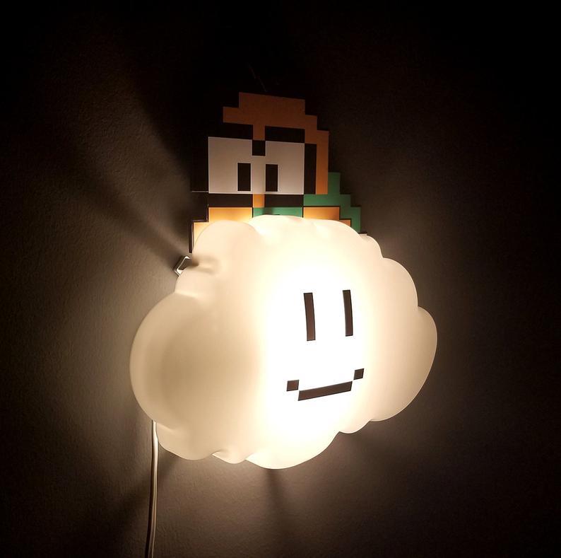 Super Mario Bros. Lakitu Cloud Lamp 1