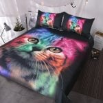 Rainbow Cat Bedding 9