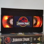 Jurassic Park VHS Lamp