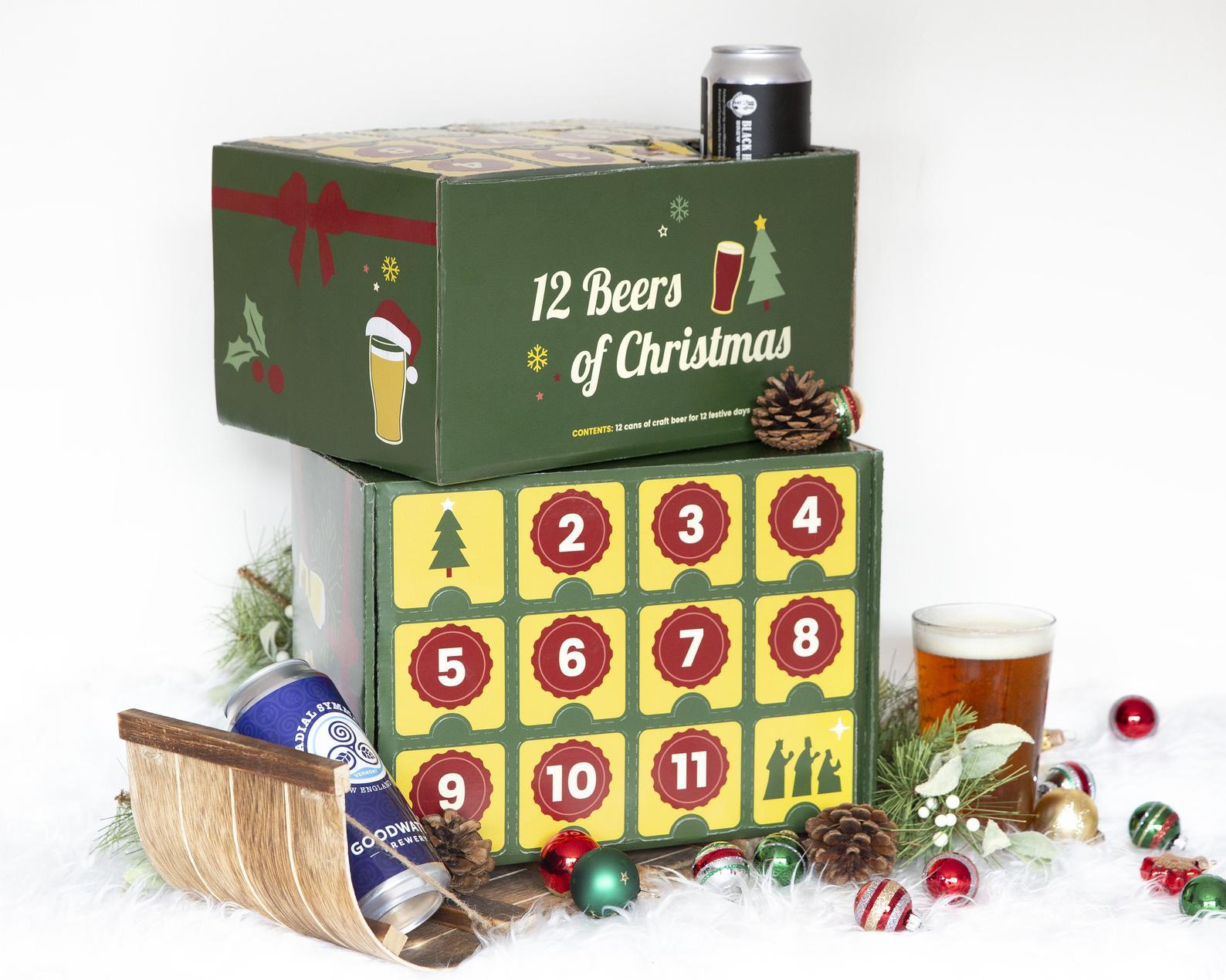DIY 12 Beers of Christmas Holiday Advent Calendar